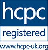 Registered byt the HCPC